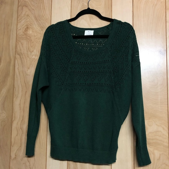 Pins and Needles cut out detailing sweater
